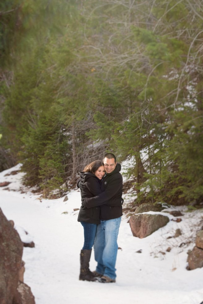 winter+engagement+session