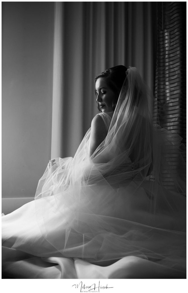 Classic bridal portrait denver