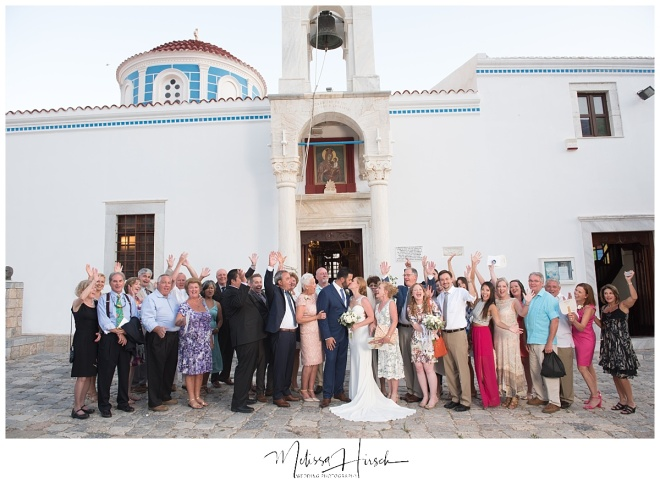 Denver to Greece destination wedding